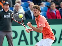 14-09-12, Netherlands, Amsterdam, Tennis, Daviscup Netherlands-Suiss, Robin Haase   Stanislas Wawrinka