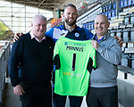St Johnstone Players Sponsors Night…10.05.18<br />Alan Mannus<br />Picture by Graeme Hart.<br />Copyright Perthshire Picture Agency<br />Tel: 01738 623350  Mobile: 07990 594431