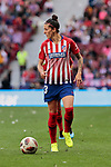 Atletico de Madrid's Jennifer Hermoso during Liga Iberdrola match between Atletico de Madrid and FC Barcelona at Wanda Metropolitano Stadium in Madrid, Spain. March 17, 2019. (ALTERPHOTOS/A. Perez Meca)