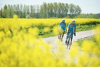 Astana recon<br /> <br /> 2014 Paris-Roubaix reconnaissance