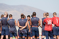 Head Coach Wilmer Cabrera and U17 Men's National Team training. 2009 CONCACAF Under-17 Championship From April 21-May 2 in Tijuana, Mexico