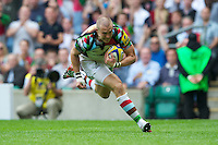Mike Brown of Harlequins runs in a try during the Aviva Premiership match between London Wasps and Harlequins at Twickenham on Saturday 1st September 2012 (Photo by Rob Munro).