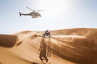 5th January 2021; Dakar Rally stage 3; 68 McCanney Jamie (gbr), Yamaha, Monster Energy Yamaha Rally Team, Moto, Bike, action during the 3rd stage of the Dakar 2021 between Wadi Al Dawasir and Wadi Al Dawasir, in Saudi Arabia on January 5, 2021