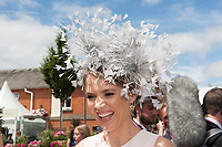 ITV presenters enjoying The Coronation Stakes Day of Royal Ascot 2017 at Royal Ascot Racecourse on Friday 23rd June 2017 (Photo by Rob Munro/Stewart Communications)