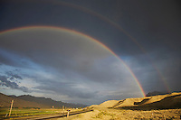 Rainbow, Yellowstone National Park, Wyoming, USA