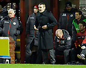 ST MIRREN MANAGER DANNY LENNON...17/12/2011 sct_jsp020_motherwell_v_st_mirren     .Copyright  Pic : James Stewart.James Stewart Photography 19 Carronlea Drive, Falkirk. FK2 8DN      Vat Reg No. 607 6932 25.Telephone      : +44 (0)1324 570291 .Mobile              : +44 (0)7721 416997.E-mail  :  jim@jspa.co.uk.If you require further information then contact Jim Stewart on any of the numbers above.........