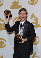 LOS ANGELES, CA - FEBRUARY 8: Chick Corea poses in the press room at the 57th Annual Grammy Awards at Staples Center on February 8, 2015 in Los Angeles, California. <br /> CAP/MPI/PGTW<br /> ©PGTW/MPI/Capital Pictures