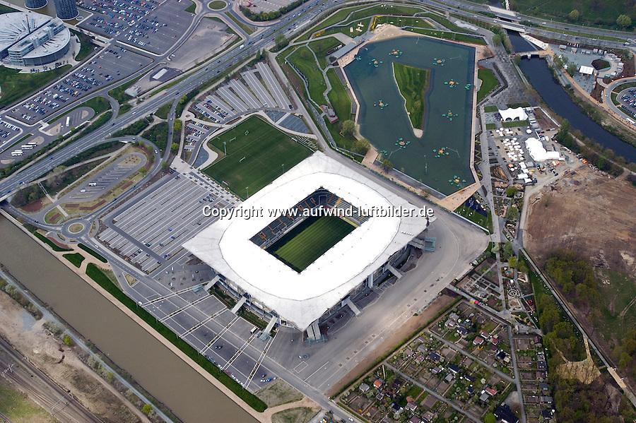 Deutschland, Niedersachsen, Wolfsburg, VFL Wolfsburg, Stadion, Fussballstadion