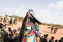 Kenya - Dadaab - 22nd July 2011. Refugees who arrived in the past few days queue in order to be registered at Dagahaley camp.