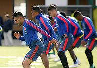 KAZAN - RUSIA, 15-06-2018: Radamel Falcao Garcia jugador de Colombia, durante entrenamiento como parte de la Copa Mundo FIFA 2018 Rusia. /  Radamel Falcao Garcia player of Colombia during training session in Kazan  as part of the 2018 FIFA World Cup Russia. Photo: VizzorImage / Julian Medina / Cont