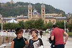 Daily life San Sebastian (North Spain) during the 62st San Sebastian Film Festival. September 26, 2014. (ALTERPHOTOS/Caro Marin)