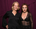 "Rebecca Luker and Jennifer Simardbackstage after ""Stigma"" on September 9, 2018 at the Green Room 42 in New York City."