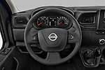 Car pictures of steering wheel view of a 2021 Nissan NV400 Acenta 2 Door Chassis Cab Steering Wheel