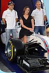 Williams-Martini-Racing in Barcelona