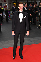 """Andrew Garfield<br /> arriving for the London Film Festival 2017 screening of """"Breathe"""" at the Odeon Leicester Square, London<br /> <br /> <br /> ©Ash Knotek  D3318  04/10/2017"""