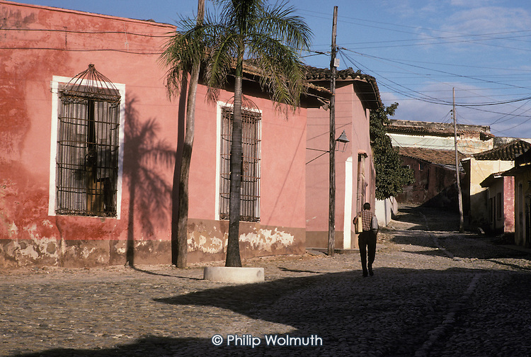 The southern town of Trinidad, which was declared a World Heritage site by UNESCO in 1988 to preserve the architectural legacy of its Spanish colonial history.
