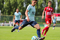 Guillaume Francois (22) of Union in action during a Ia preseason friendly soccer game between Tempo Overijse and Royale Union Saint-Gilloise, Saturday 29th of June 2021 in Overijse, Belgium. Photo: SPORTPIX.BE   SEVIL OKTEM