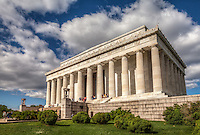 Lincoln Memorial Washington DC<br /> Washington DC Photography Washington DC Art - - Framed Prints - Wall Murals - Metal Prints - Aluminum Prints - Canvas Prints - Fine Art Prints Washington DC Landmarks Monuments Architecture
