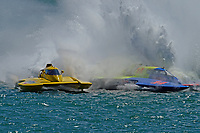 """Frame 28: Andrew Tate, H-300 """"Pennzoil"""", Donny Allen, H-14 """"Legacy 1""""       (H350 Hydro)"""