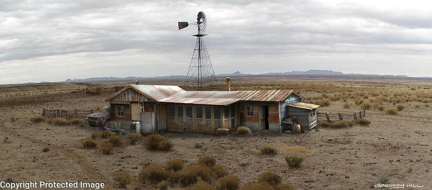Ellis's cabin using location photo as base.