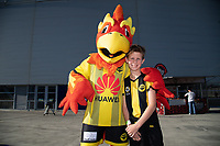 15th March 2020, Wellington, New Zealand;  Nixie during the A-League - Wellington Phoenix versus Melbourne Victory football match at Sky Stadium in Wellington on Sunday the 15th March 2020.
