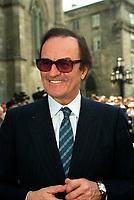 Charles Dutoit<br />  aux<br /> Funerailles de Jean Drapeau, le 13 aout 1999<br /> a la Basilique Notre-Dame.<br /> <br /> PHOTO :  Agence Quebec Presse