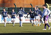 SWI Harelbeke - BS Poperinge ..vreugde na de 0-1 voor Poperinge..foto VDB / BART VANDENBROUCKE