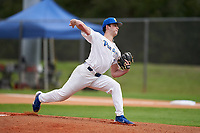 Pitt Panthers pitcher Mitch Myers (27) during the teams opening game of the season against the Indiana State Sycamores on February 19, 2021 at North Charlotte Regional Park in Port Charlotte, Florida.  (Mike Janes/Four Seam Images)
