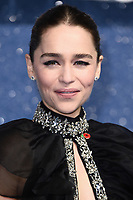 "LONDON, UK. November 11, 2019: Emelia Clarke arriving for the ""Last Christmas"" premiere at the BFI Southbank, London.<br /> Picture: Steve Vas/Featureflash"