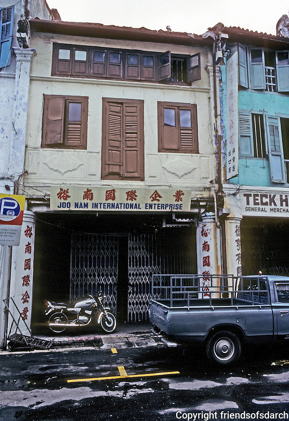 Singapore: Chinese company signs. Photo '82.