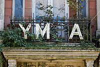 2020 09 27 The YMCA building in Stepney Street, Llanelli, Wales, UK