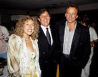FILE PHOTO - Actor Marie Tifo, Pierre Curzi and Michel Cote at the World Film Festival circa 1986
