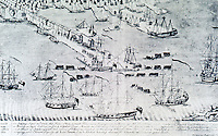Utopia:  Boston --View of the Harbor, 1768.  REPS: MAKING OF URBAN AMERICA, fig. 86.