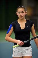 March 15, 2015, Netherlands, Rotterdam, TC Victoria, NOJK, Final girls 14 years, Roos van Reek (NED)<br /> Photo: Tennisimages/Henk Koster
