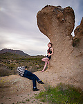 Ortrun and Granite ©2019 James D. Peterson.