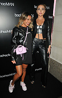 Kazimir Crossley and Georgia Harrison at the boohooMan Love Island Party, boohoo, Great Portland Street, on Thursday 07th October 2021, in London, England, UK. <br /> CAP/CAN<br /> ©CAN/Capital Pictures