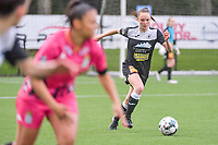 Loes Van Mullem (33) of Eendracht Aalst pictured during a female soccer game between Sporting Charleroi and Eendracht Aalst on the 8th matchday in play off 2 of the 2020 - 2021 season of Belgian Scooore Womens Super League , tuesday 18 th of May 2021 in Marcinelle , Belgium . PHOTO SPORTPIX.BE | SPP | STIJN AUDOOREN