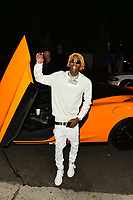 Celebrities arrives to Soulja Boy's Birthday Party In Hollywood
