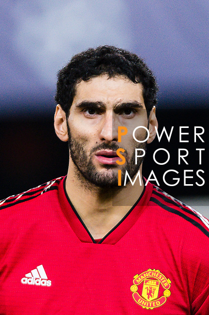 Marouane Fellaini of Manchester United getting into the field during the UEFA Champions League 2018-19 match between Valencia CF and Manchester United at Estadio de Mestalla on December 12 2018 in Valencia, Spain. Photo by Maria Jose Segovia Carmona / Power Sport Images