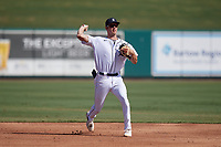 Detroit Tigers shortstop Gage Workman (27) during practice before a Florida Instructional League intrasquad game on October 24, 2020 at Joker Marchant Stadium in Lakeland, Florida.  (Mike Janes/Four Seam Images)