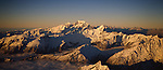 Mount Cook. Mount Tasman. Mount Cook National Park. New Zealand.