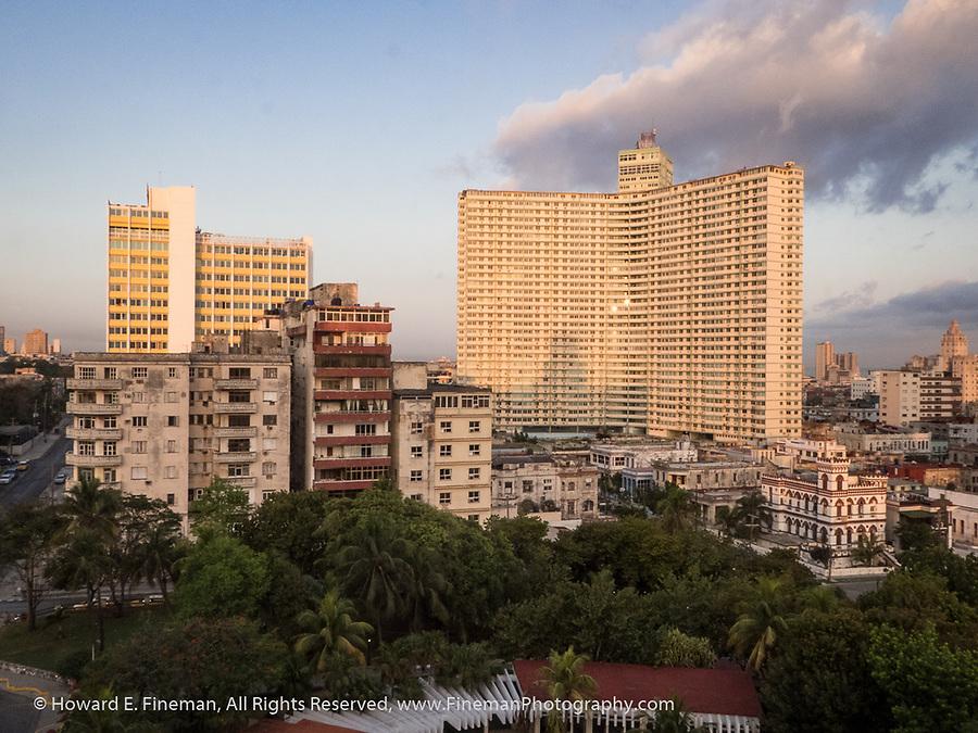 Hotel Habana Riviera seen from Hotel Nacional