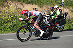 Tadej Pogacar (SLO) UAE Team Emirates in action during Stage 1 of the Itzulia Basque Country 2021, an individual time trial running 13.9km from Bilbao to Bilbao, Spain. 6th April 2021.  <br /> Picture: Luis Angel Gomez/Photogomezsport   Cyclefile<br /> <br /> All photos usage must carry mandatory copyright credit (© Cyclefile   Luis Angel Gomez/Photogomezsport)