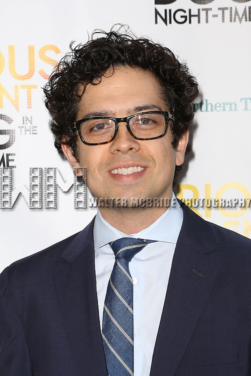 Geoffrey Arend attends the Broadway Opening Night Performance of 'The Curious Incident of the Dog in the Night-Time'  at the Barrymore Theatre on October 5, 2014 in New York City.