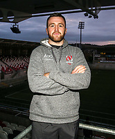 Monday 2nd December 2019   Ulster Rugby Match Briefing<br /> <br /> Alan O'Connor at the Match Briefing held at Kingspan Stadium, Belfast ahead of the Heineken Champions Cup Round 3 clash against Harlequins at Kingspan Stadium, Belfast, on Saturday 6th December 2019. Photo by John Dickson / DICKSONDIGITAL