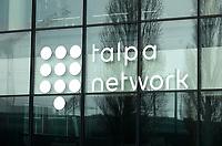 Nederland  Amsterdam - 2 jan 2021.    Kantoor van Talpa. Talpa logo.    Foto : ANP/ HH / Berlinda van Dam