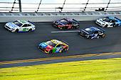 #18: Kyle Busch, Joe Gibbs Racing, Toyota Camry M&M's and #19: Martin Truex Jr., Joe Gibbs Racing, Toyota Camry SiriusXM