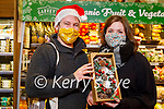 Damien O'Mahoney and Allie O'Neill enjoying their Christmas shopping in Garvey's Listowel