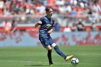 Santa Clara, CA - Sunday July 22, 2018: James Garner during a friendly match between the San Jose Earthquakes and Manchester United FC at Levi's Stadium.