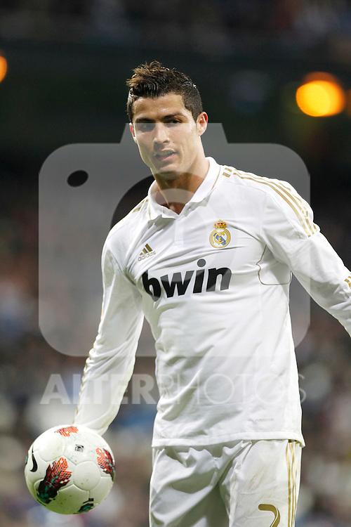 Madrid (04/03/2012).-Estadio Santiago Bernabeu..Liga BBVA..Real Madrid - Espanyol.Cristiano Ronaldo...©Alex Cid-Fuentes/ALFAQUI FOTOGRAFIA.........
